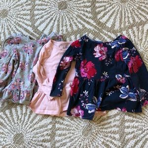 Set of 3 Gap long sleeve tops